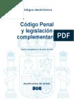 BOE-038 Codigo Penal y Legislacion Complementaria