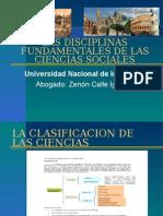 III. Las Ciencias Sociales Fundamentales -3 Cla...