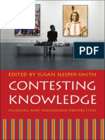 Susan Sleeper-Smith Contesting Knowledge Museums and Indigenous Perspectives 2009