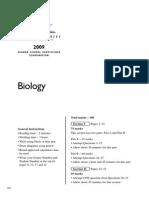 2009 Hsc Exam Biology