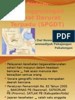 Sistem Penangganan Gawat Darurat Terpadu