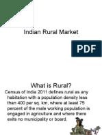 Indian Rural Market