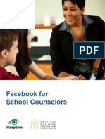 Facebook for School Counselors Final Revision1