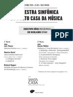 20141212 | Programa de Sala Orquestra Sinfónica do Porto Casa da Música | A ESCOLHA DE KÖNIG