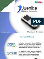 Juanicom Franchisee Brochure