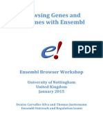 coursebook ENSEMBL