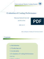 Evaluation of Coating Performance