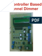 Mc Based 4 Channel Dimmer