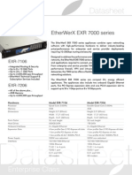 Ewx Datasheet Exr 7000 Series