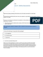 u1l4 online documents worksheet - mathew maj