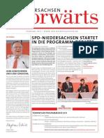 Niedersachsen-Vorwärts Februar 2015