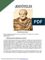 Aristoteles Vida y Obra Epigrafes