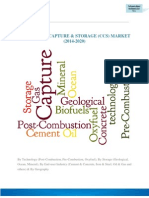 GLOBAL CO2 CAPTURE & STORAGE (CCS) MARKET (2014-2020)