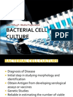 Bacterial Cell Culture(Media Preparation)