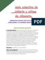 Convenio colectivo de la cuchilleria de Albacete.