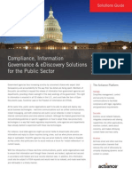 Compliance, Information Governance & eDiscovery Solutions for the Public Sector