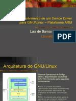 Desenvolvimento de Um Device Driver Para GNULinux IIsemCCppSE