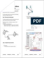 Connecter Plusieurs Cisco Packet Tracer-2switches