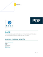 FACe - Manual de Organismos 1-2