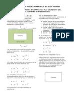 modelo de  examenes