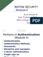 Authentication New I