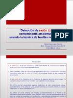 Deteccion de Radón 222 Ambiental-MELH-21!03!13