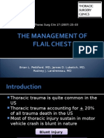 The Management of Flail Chest - Tata