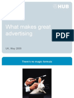 What Makes Great Advertising