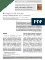 Accounting, Organizations and Society Volume Issue 2012 [Doi 10.1016_j.aos.2012.01.003] Neu, Dean; Everett, Jeff; Rahaman, Abu Shiraz; Martinez, Daniel -- Accounting and Networks of Corruption