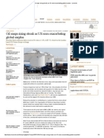 Oil Snaps Rising Streak as US Seen Exacerbating Global Surplus - Livemint