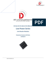 ID-3LA-LP ID-12LA-LP ID-20LA-LP RFID Reader Modules Low Power - Micro Power 125khz LF