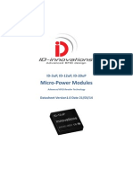 ID-3uP ID-12uP ID-20uP RFID Reader Modules Low Power - Micro Power 125KHz LF