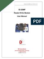 ID-20MF RFID Reader Module 13.56MHz HF