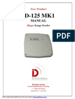 ID-125 LF 125KHz RFID Long Range Reader