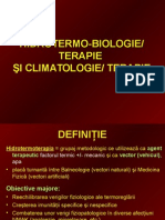 Curs 5 - Hidrotermo-biologie