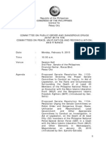 Transcript February 9 Mamasapano probe by Senate Committee on Public Order