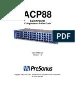 ACP88 OwnersManual En