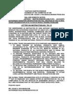 Letter of Instruction 781 15