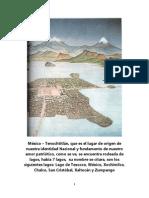 Las Calles de Tenochtitlan