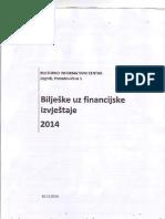 Bilješke Uz Financijske Izvještaje
