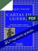 Cartas de Guerra - Jacques Vaché - Fragmento gratuito