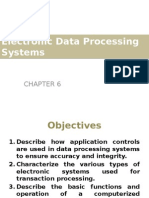 Chapter 6 - Electronic Data Processing Systems