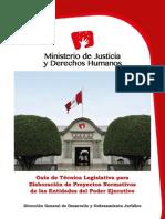 Guía de Técnica Legislativa