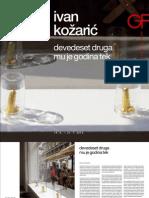 Katalog Ivan Kožarić - devedeset druga mu je godina tek