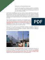 La Mineria y El Medioambiente en La Republica Dominicana