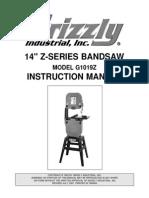 Bandsaw g1019z m