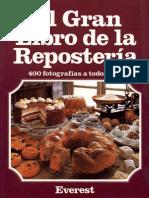 El Gran Libro de La Reposteria - JPR504