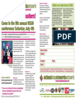 NSSN 2015 conference leaflet