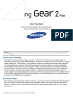 GEN SM-R381 Samsung Gear2 Neo English User Manual BND6 F3 AC