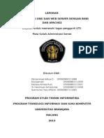 Laporan Administrasi Server Instalasi Server